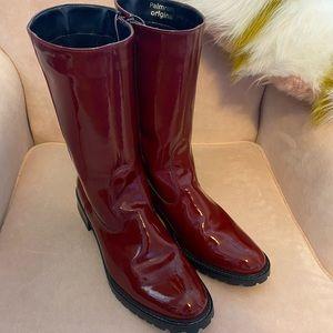 Funky Chili Red Palmroth Original Boots Sz 10